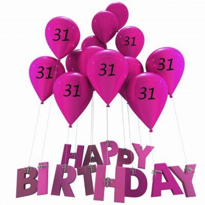 Happy Birthday 31st.