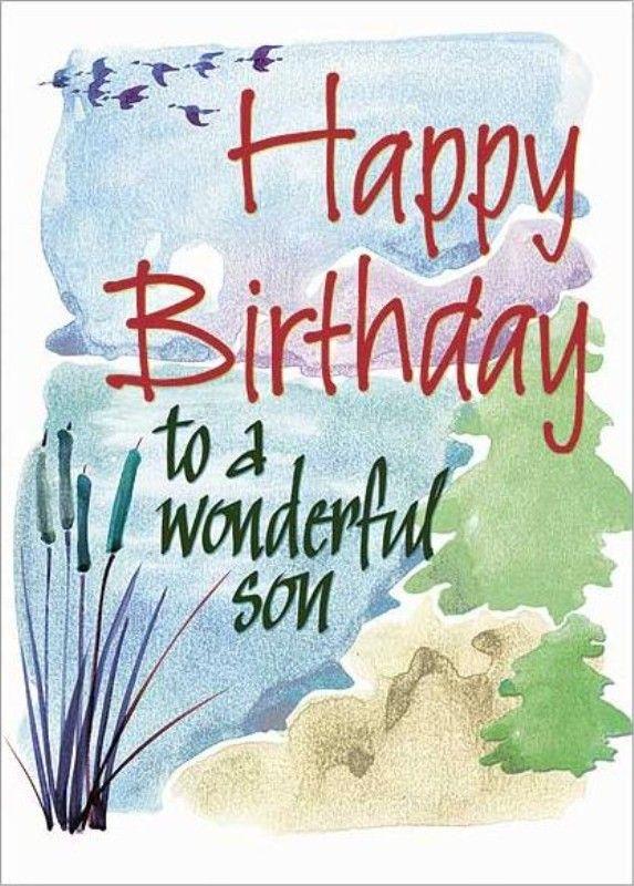Happy birthday son.