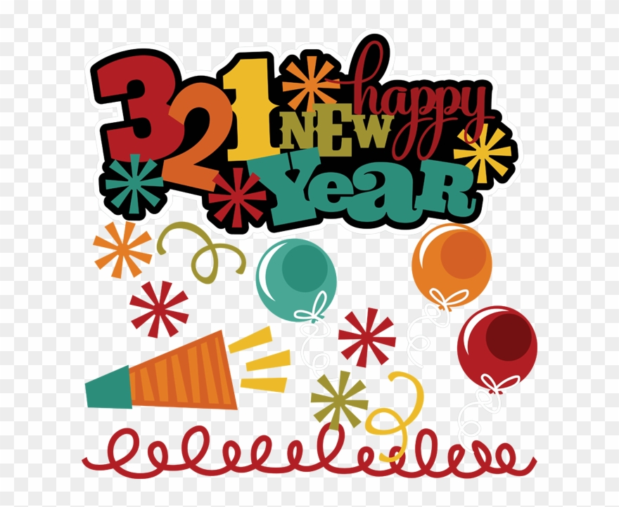 321 Happy New Year Clipart (#854992).