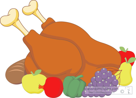 Thanksgiving Clipart : cooked.