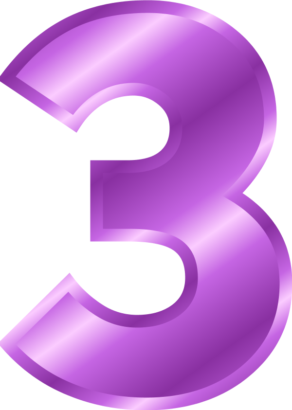 Clip Art Numbers 33 Clipart.