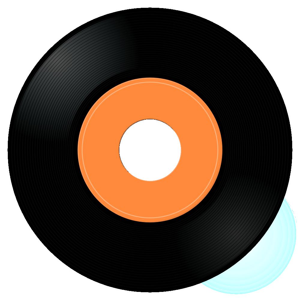 45 Rpm Records Clipart.