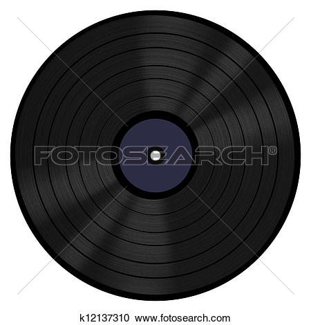 Stock Photography of Vinyl Record 33 RPM k12137310.