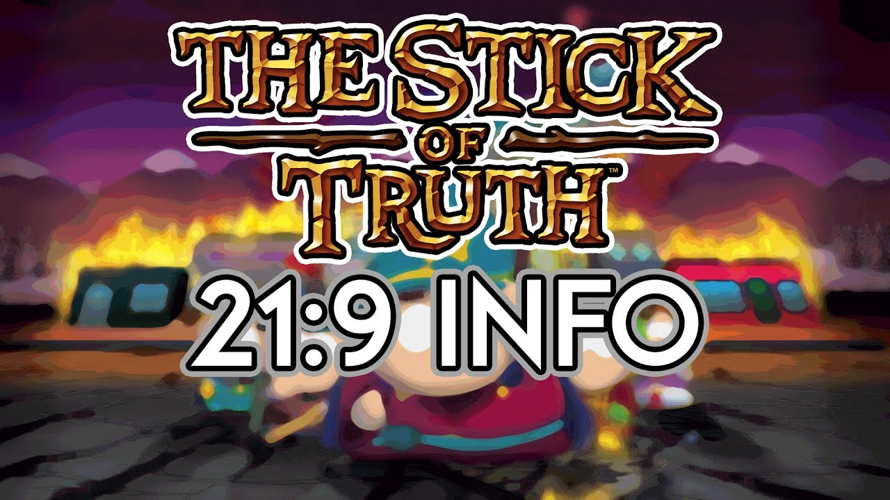 South Park: The Stick of Truth 21:9 Review (3440x1440) (60fps.
