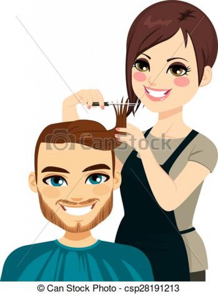 hairdressers cutting hair clipart hairdressers cutting hair.