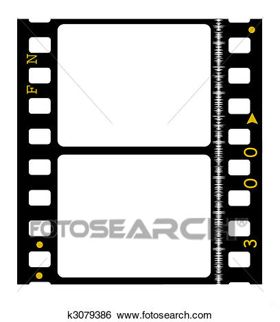 Stock Illustration of 35 mm movie Film k3079386.