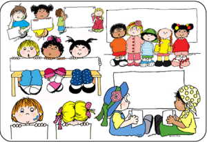 Kids Reading Clipart #12.