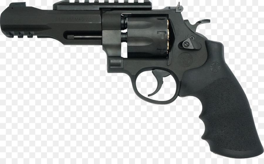 Smith & Wesson .357 Magnum Revolver .38 S&W Cartuccia magnum.