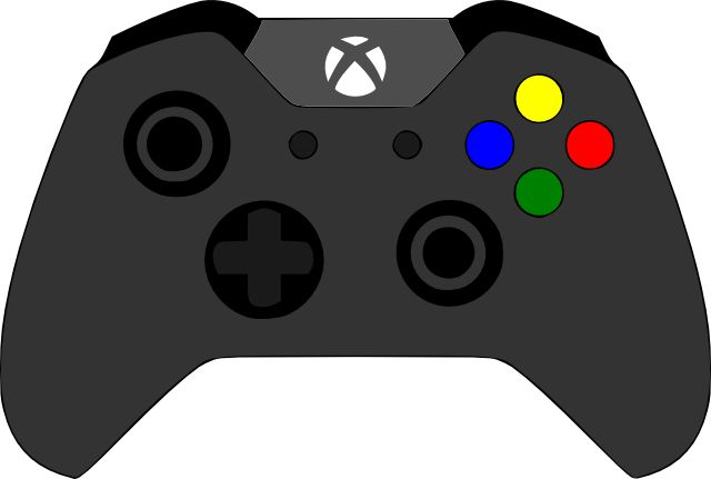 Free Xbox Controller Silhouette, Download Free Clip Art.