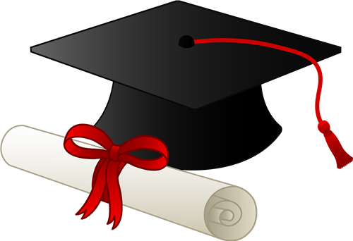 Diploma clipart transparent.