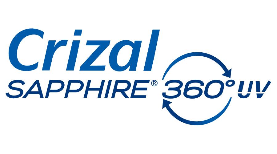 Crizal Sapphire 360° UV Vector Logo.