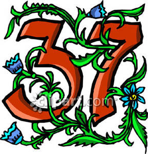 37 With Blue Flowers.