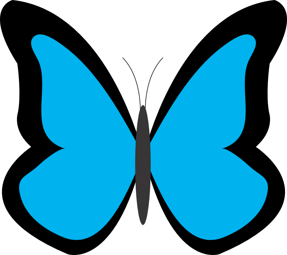 butterfly clipart #38.