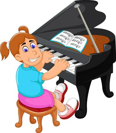 386 Piano Lesson Stock Vector Illustration And Royalty Free Piano.