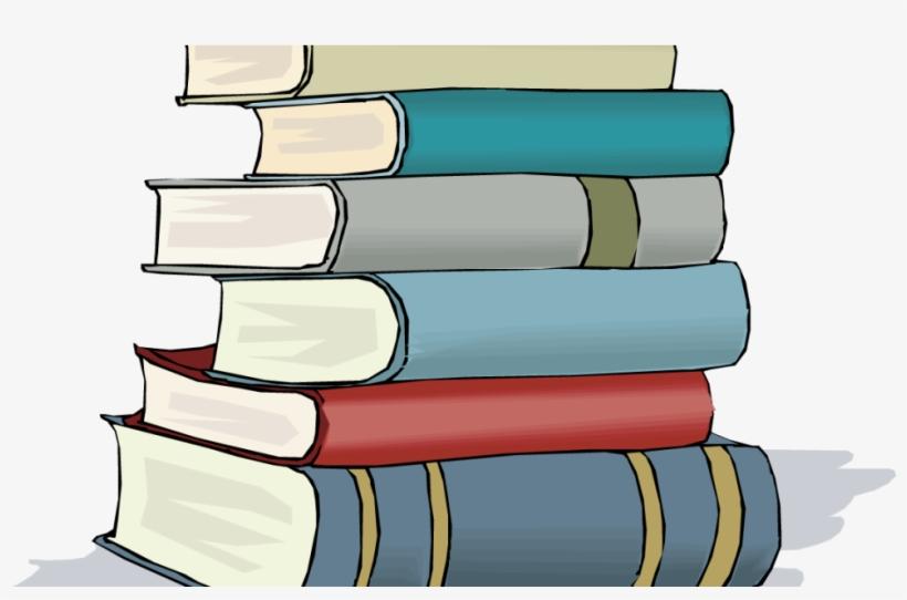Clip Black And White 3 Books Clipart.