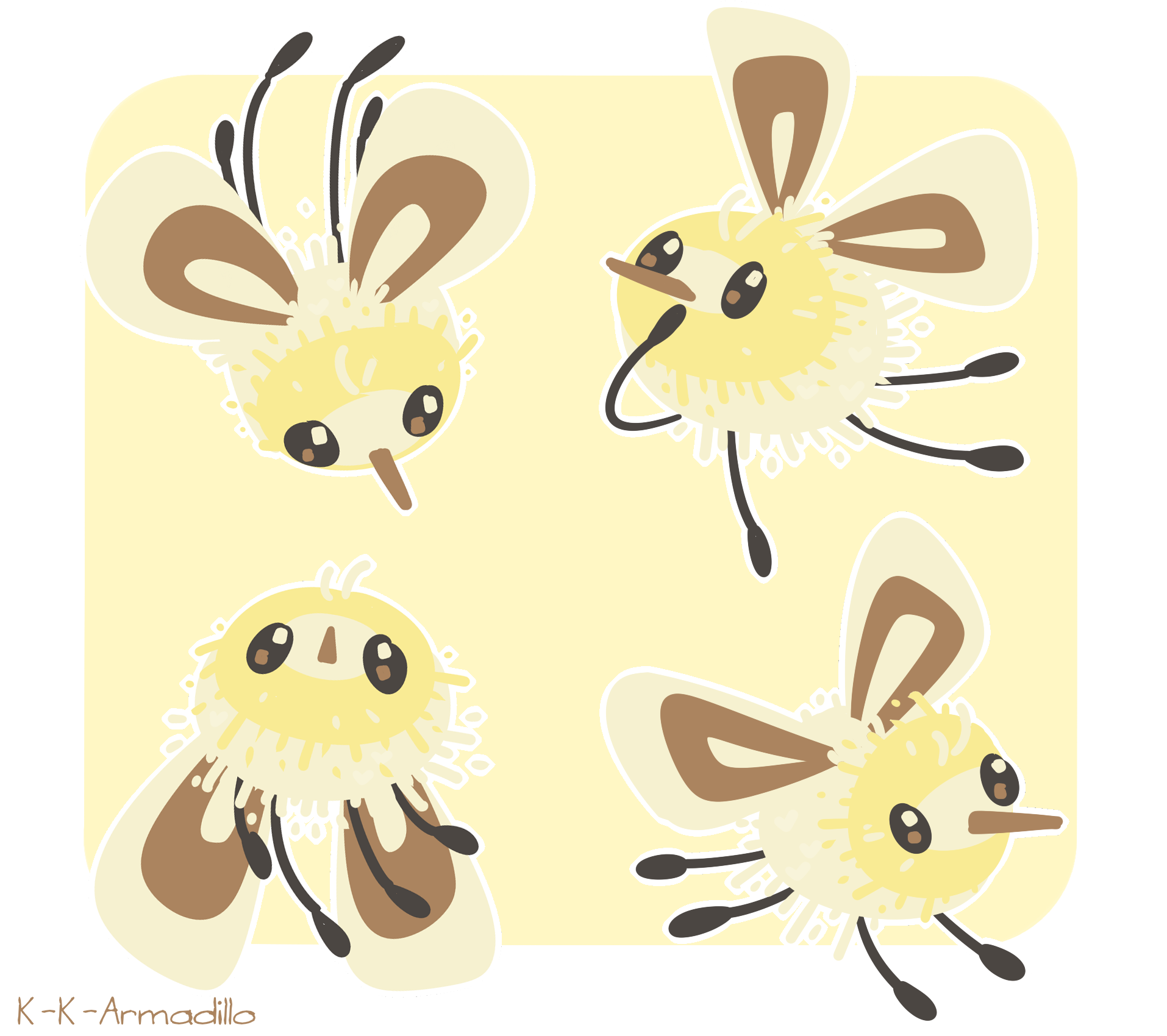 Cutiefly Stickers on Storenvy.