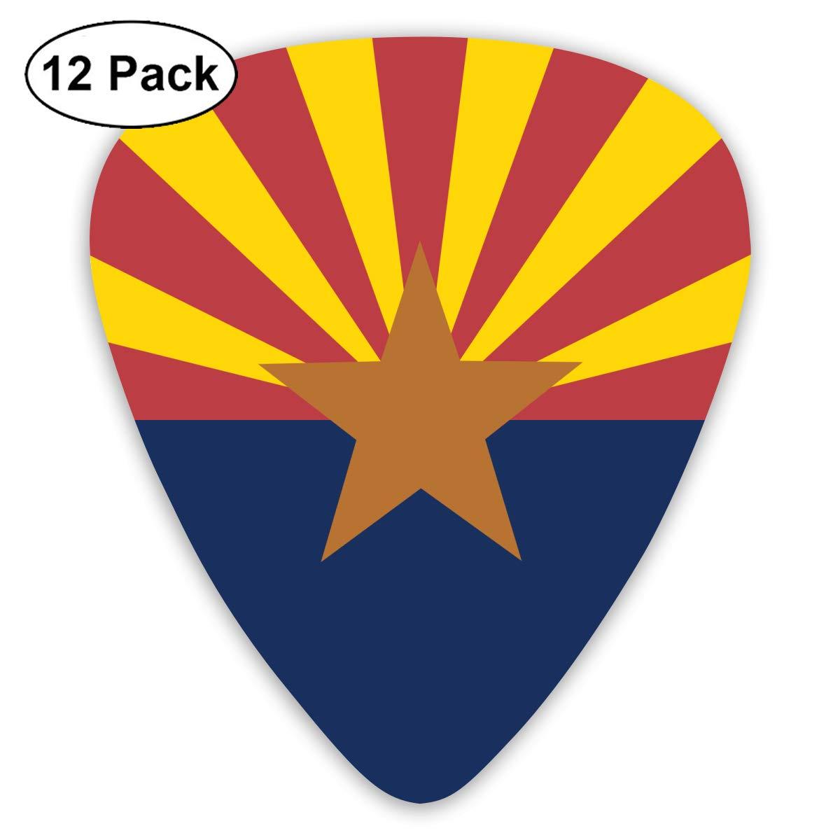 Amazon.com: XKAWPC Anonymous Arizona State Flag Celluloid Guitar.