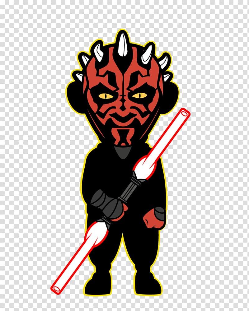 Anakin Skywalker Darth Maul R2.