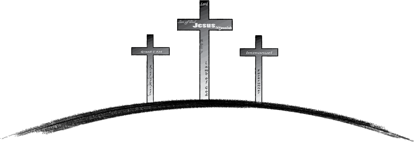 3 Crosses Png.