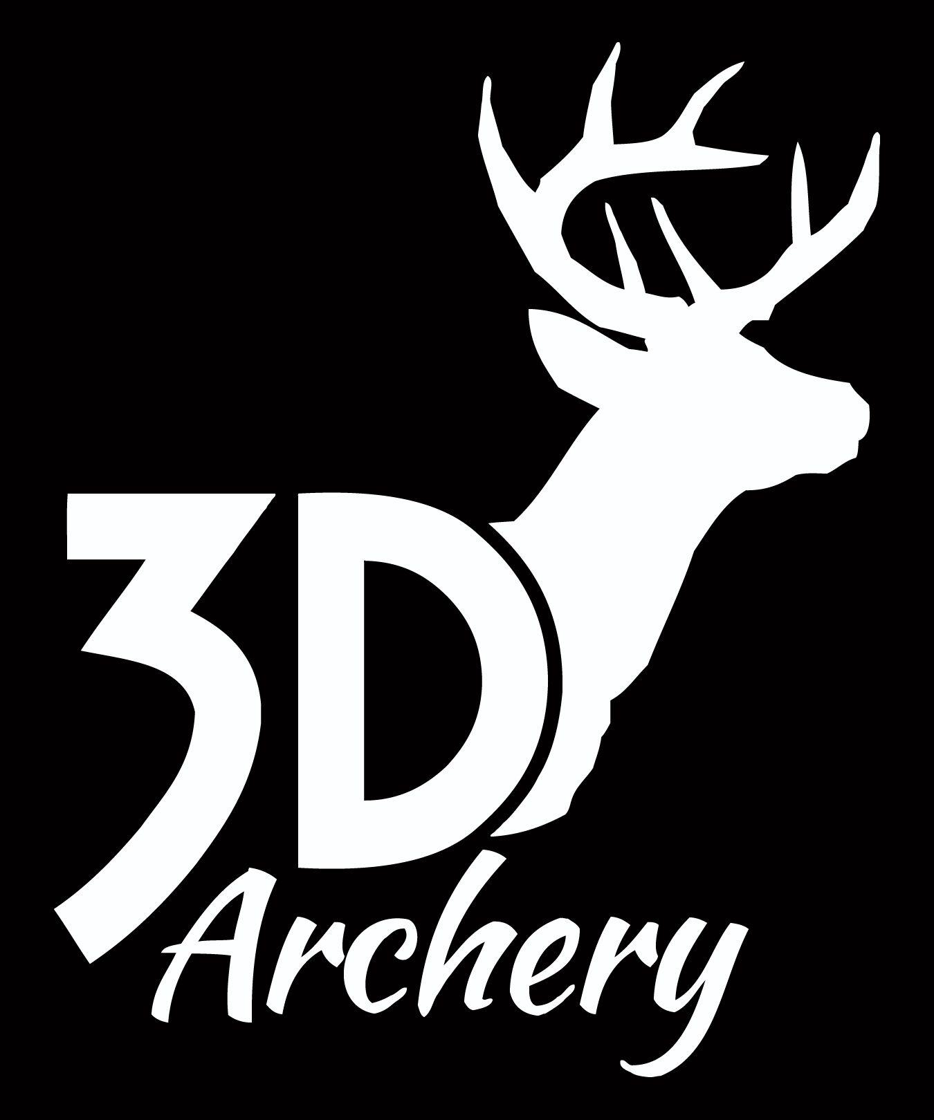 3D Archery Logo.