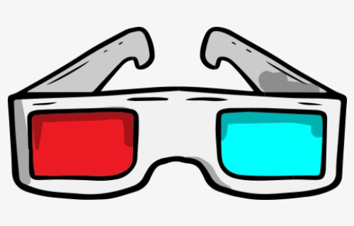 Free 3d Glasses Clip Art with No Background.