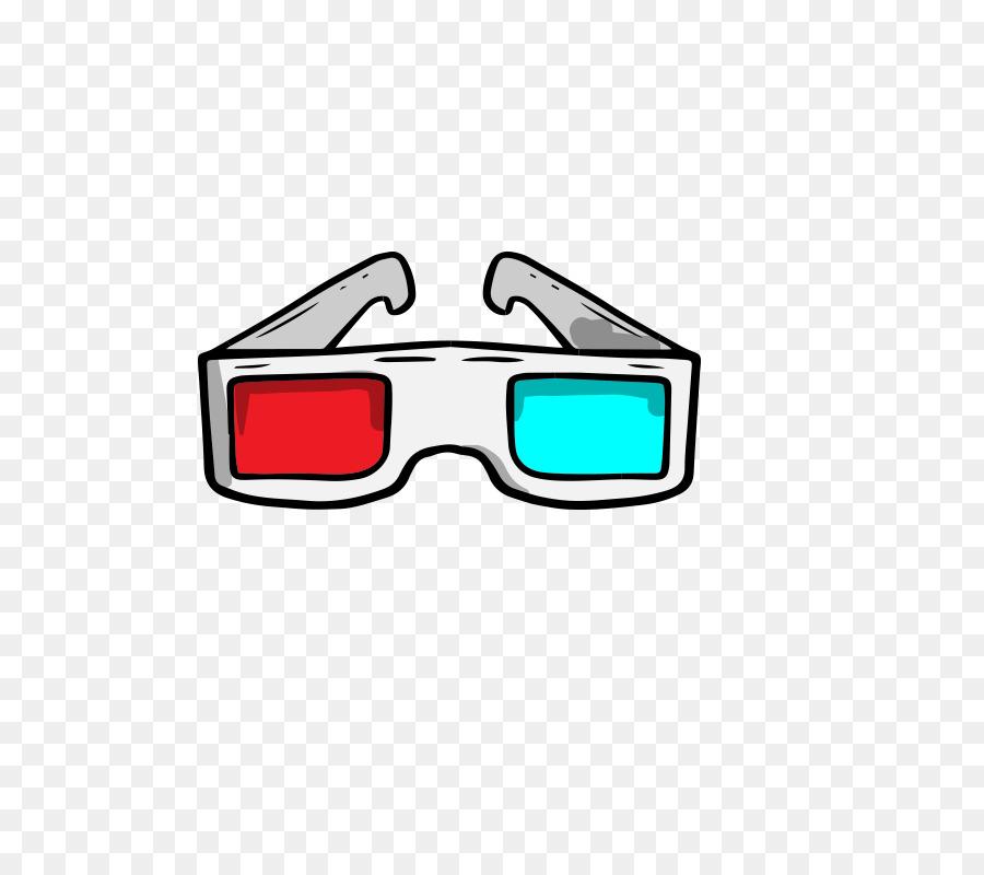 Cartoon Sunglasses.