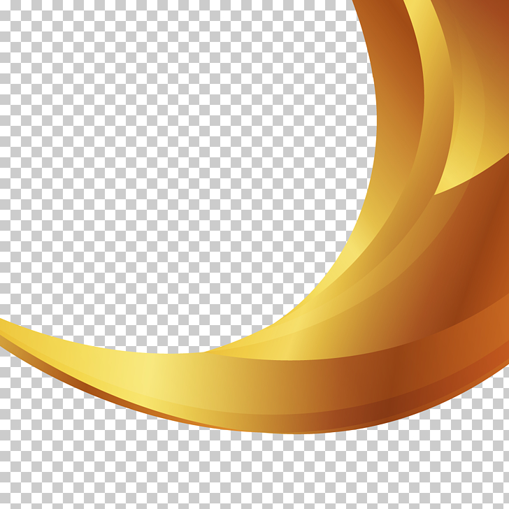 Gold background, yellow and brown 3D digital illustration.