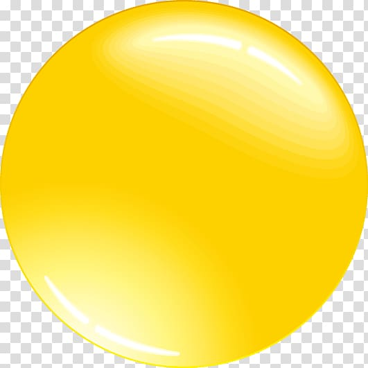 Round yellow illustration, Sphere Three.