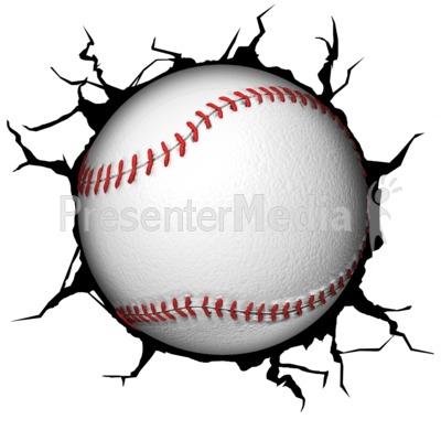 Crack Wall Baseball.