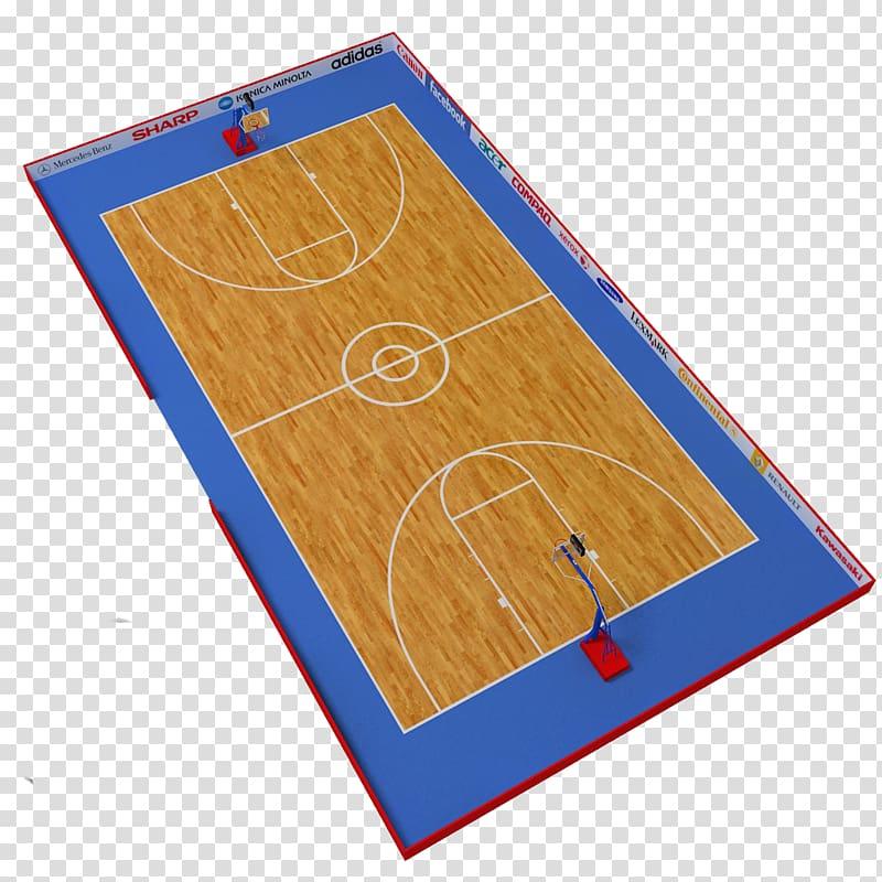 Basketball court 3D Basketball ratiopharm Ulm 3D computer.
