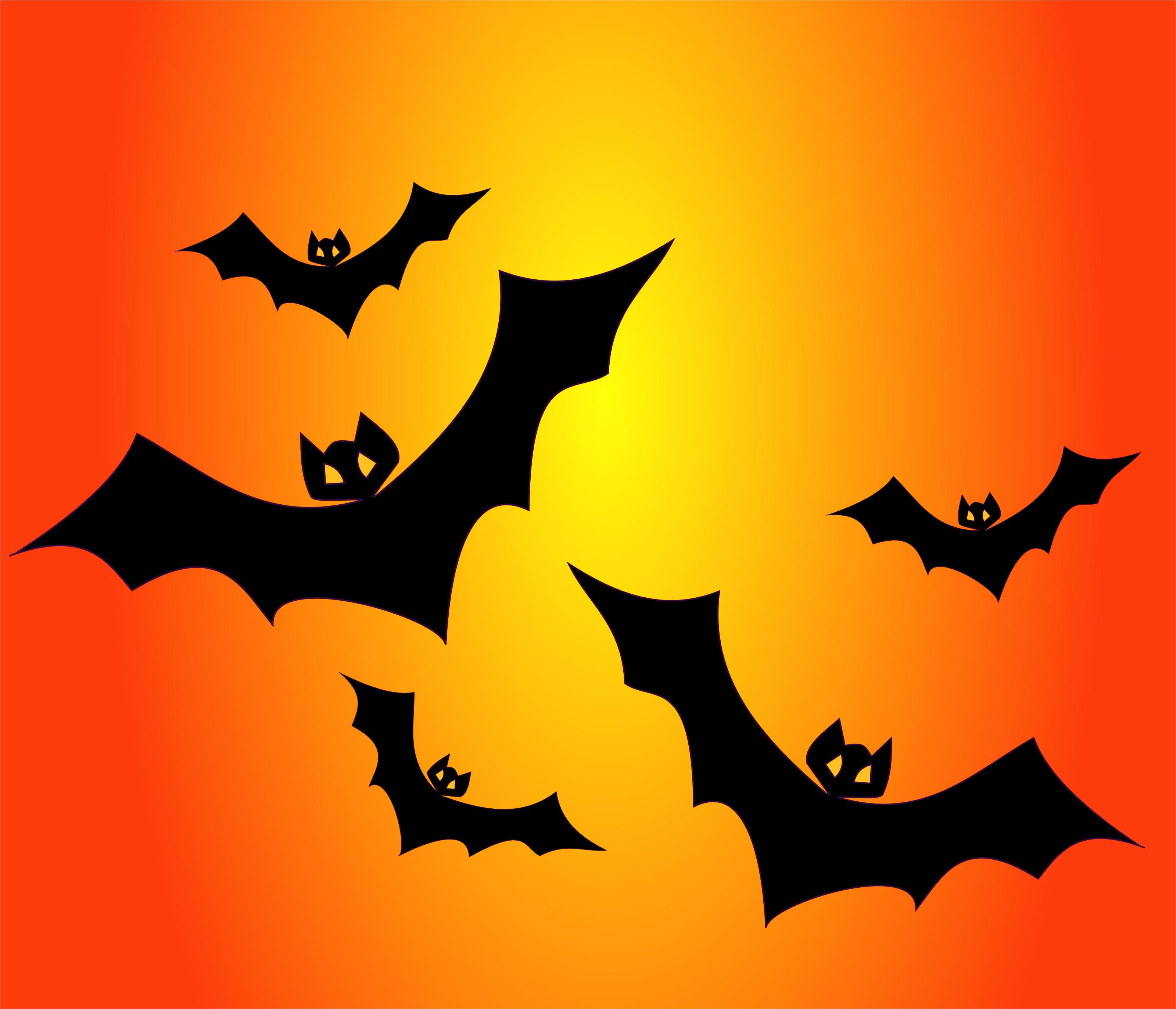Halloween Bats.