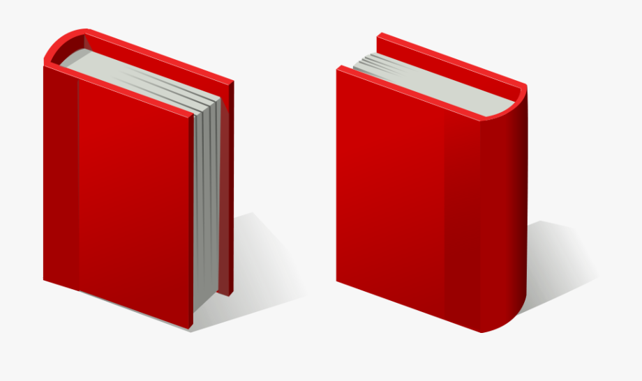 Red Books Clipart.