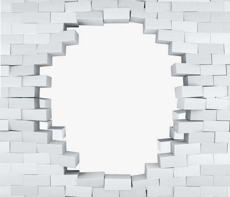 3d Brick, 3d, Dropped, Brick Wall PNG Transparent Image and.