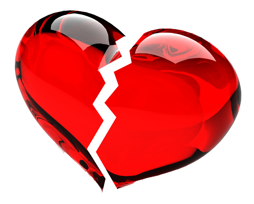 899 Broken Heart free clipart.