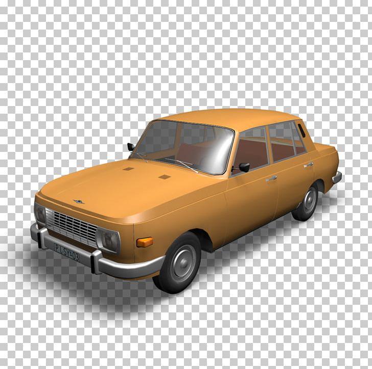 Wartburg 353 Car 3D Computer Graphics Sweet Home 3D PNG.