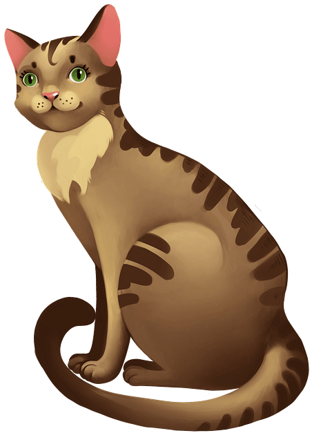 Cat clipart. Free download..