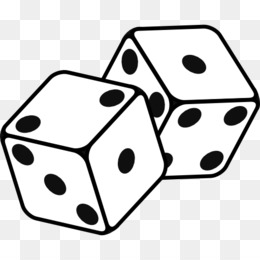 White Dice PNG.