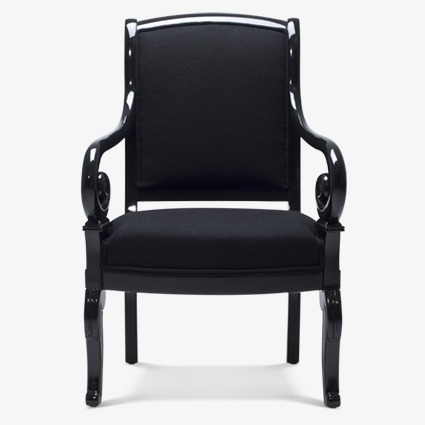 Creative 3d Model Home,black Home Sofa Chair, Home Clipart, 3d Model.