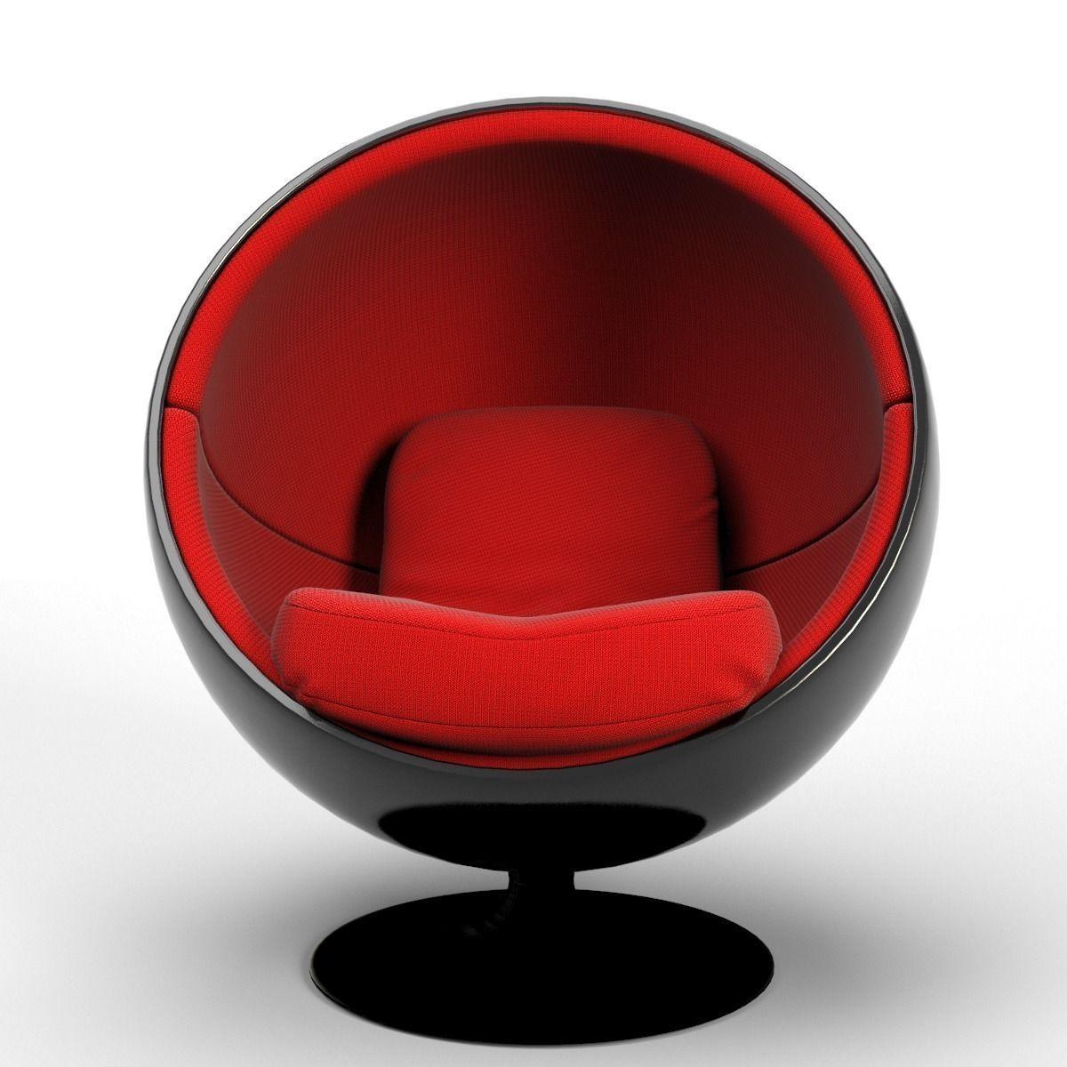 Ball chair.