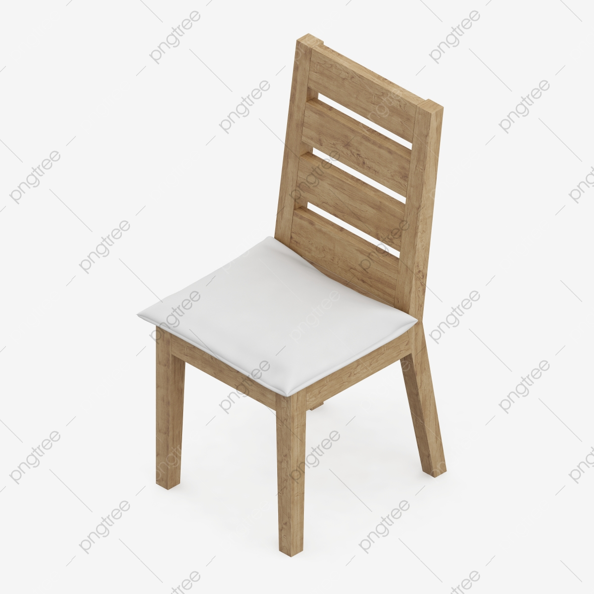 Isometric Chair 3d Rendering, Isometric, Isometric Chair, Chair PNG.