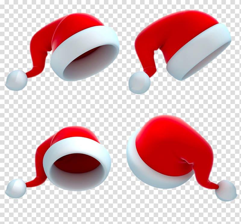 Santa Claus 3D computer graphics Illustration, Four.