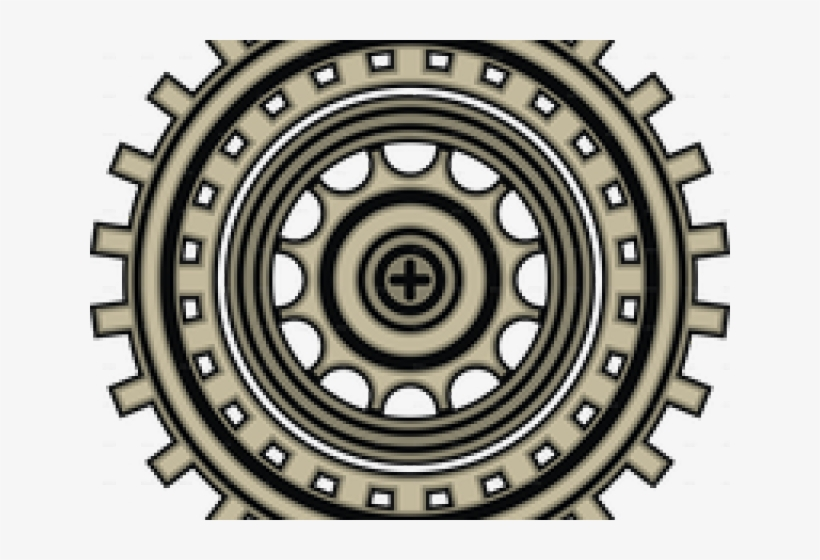 Steampunk Gear Clipart 3d Png.