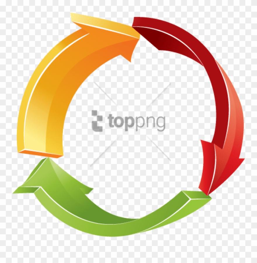 Free Png 3d Circular Arrow Png Image With Transparent.