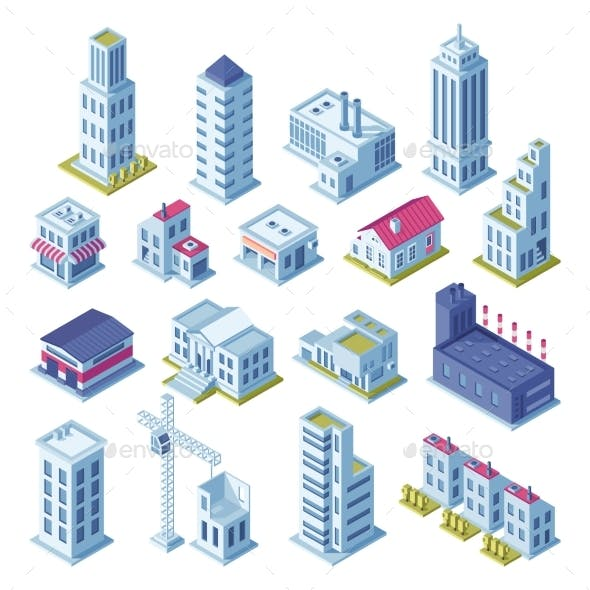 3D City Graphics, Designs & Templates from GraphicRiver.
