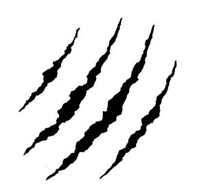 3d claw marks clipart clipart images gallery for free.