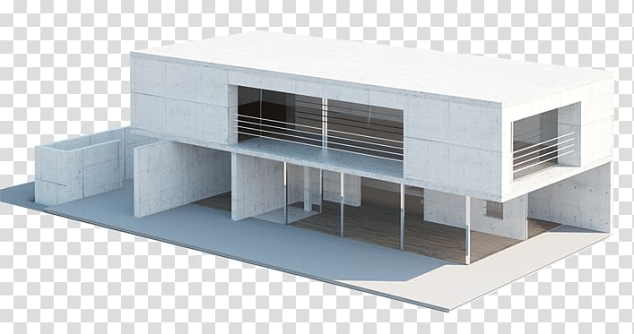 Modern architecture Mockup Architectural plan, 3d model home.