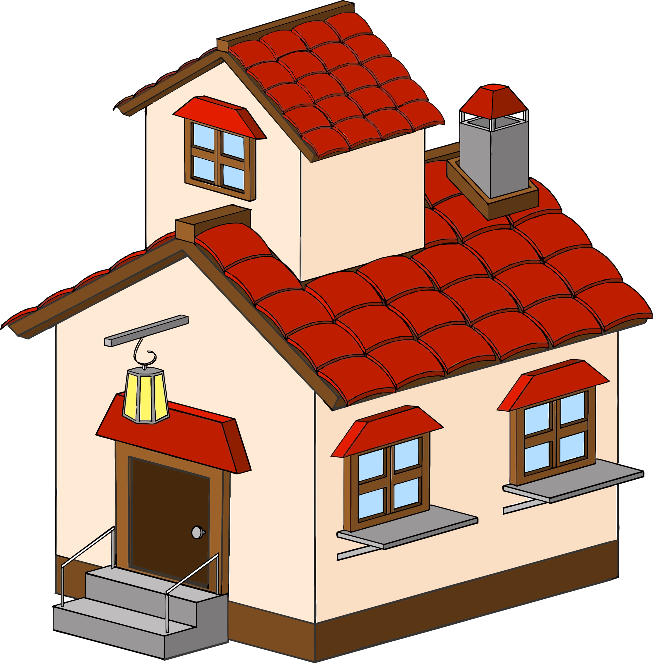 Home Clipart 3d Png.