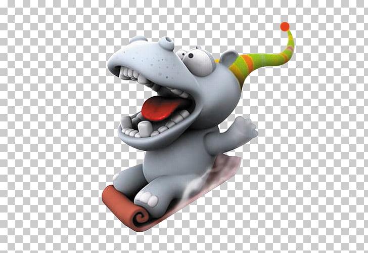 Cartoon Humour 3D computer graphics , Creative cute cartoon.