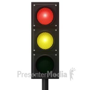 Traffic Light Flash Red.