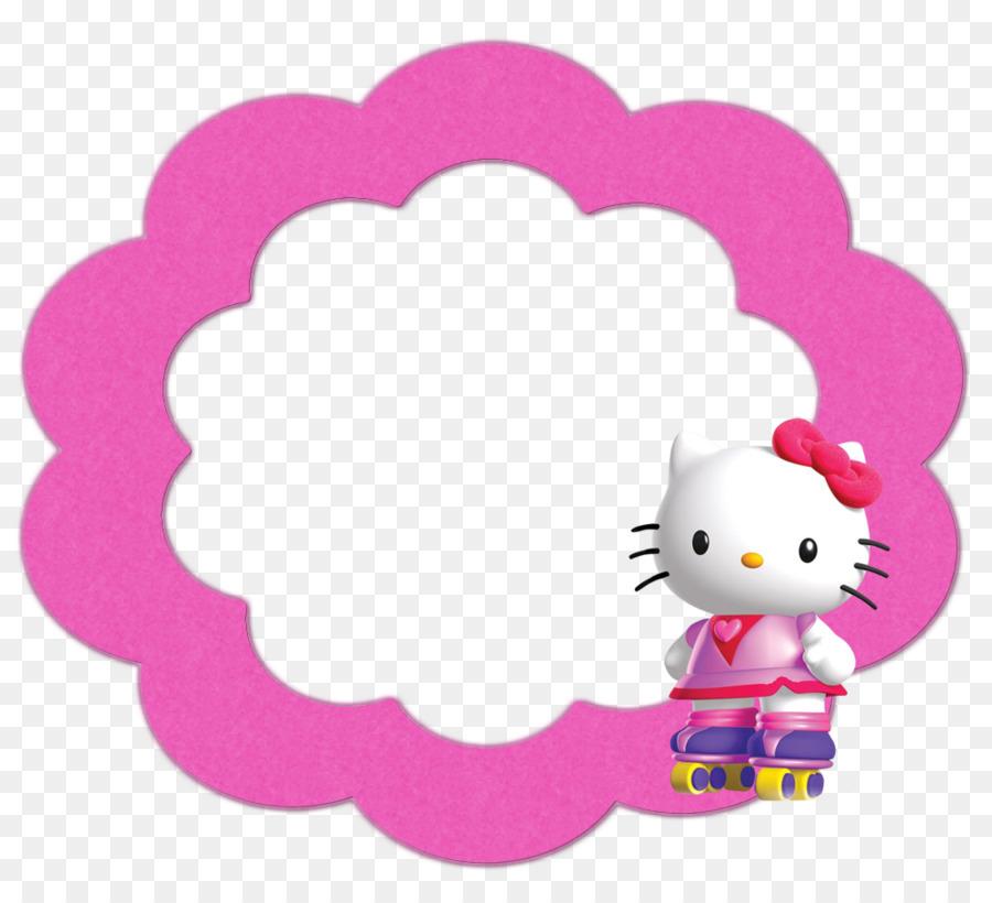 Hello Kitty Cartoon clipart.
